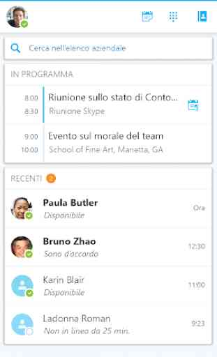 Skype for Business for Android 4
