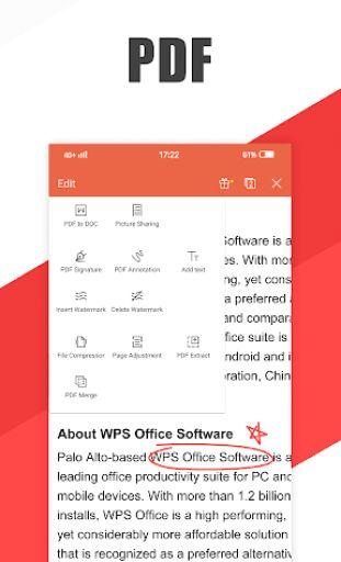 WPS Office - Word, Docs, PDF, Note, Slide & Sheet 3
