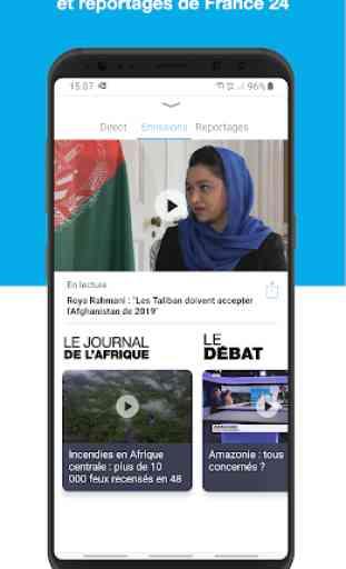 FRANCE 24 - L'actualité internationale en direct 3