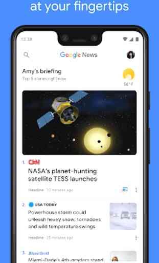Google News: Notizie locali e dal mondo 2