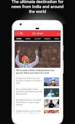 Zee News Live 2