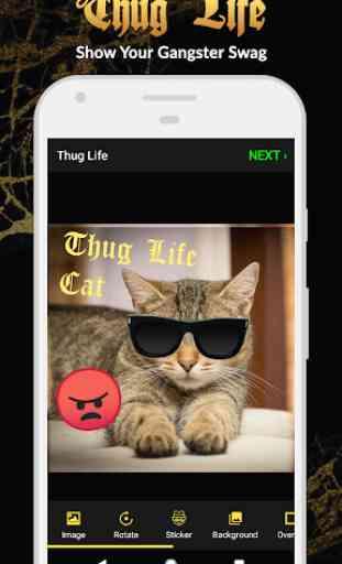 Adesivi Thug Life: Pics Editor, Photo Maker, Meme 1