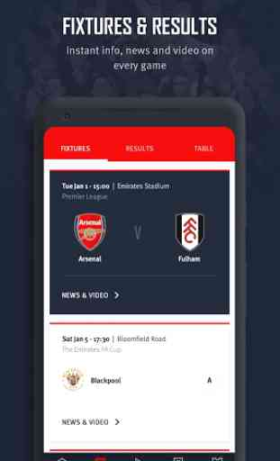 Arsenal Official App 4