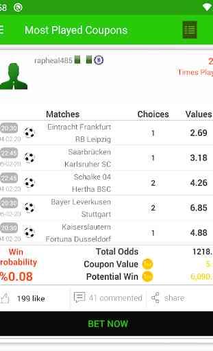 BetsWall - Pronostici Scommesse Calcio 3