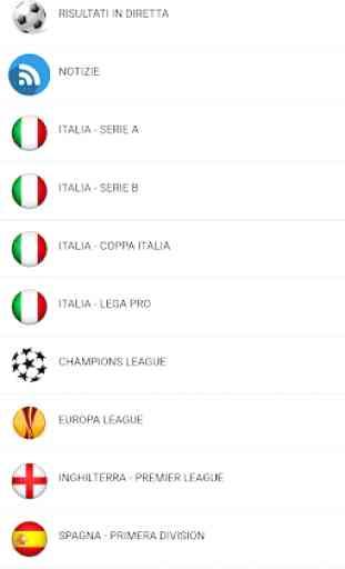 Calcio Risultati in Diretta 1