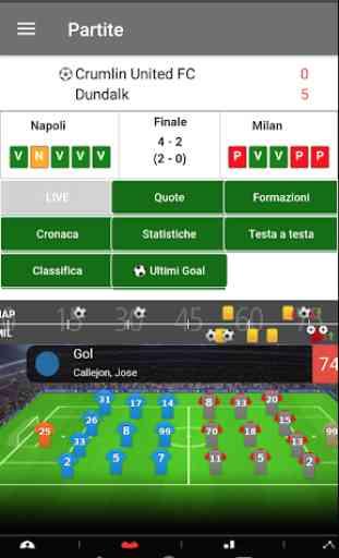 Diretta Goal Livescore - Direttagoal.it 2