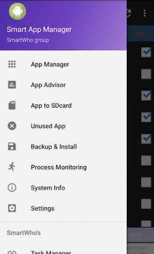 Intelligente App Manager 2
