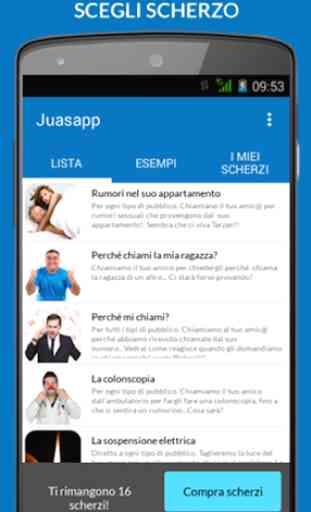 Juasapp - Scherzi Telefonici 1