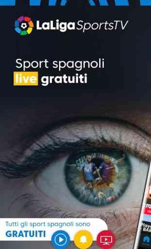 LaLigaSportstv - La TV ufficiale del calcio in HD 1
