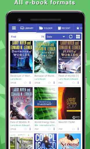 Librera - legge tutti i libri, PDF Reader 1