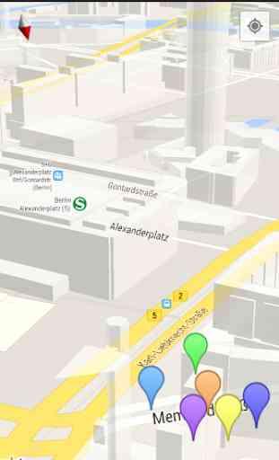Mappe e la navigazione 3D 1