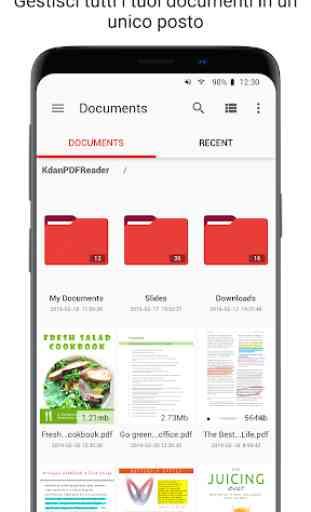 PDF Reader - Scansioni e annotare i PDF 3