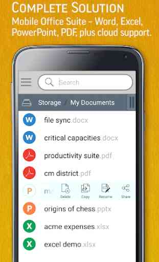 SmartOffice - View & Edit MS Office files & PDFs 1