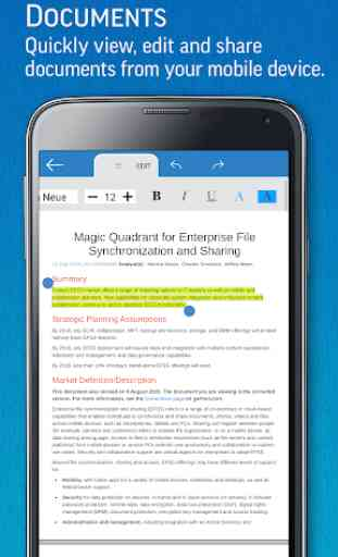 SmartOffice - View & Edit MS Office files & PDFs 2