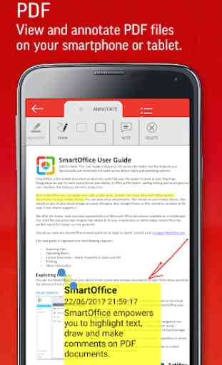 SmartOffice - View & Edit MS Office files & PDFs 3