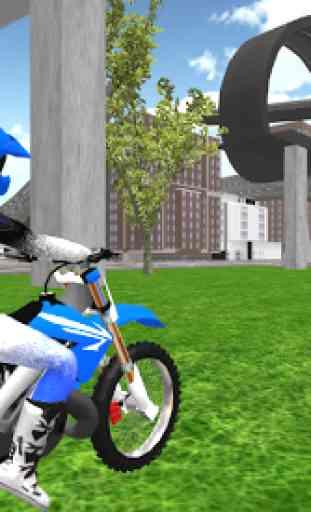 Stunt Motorbike Race 3D 3