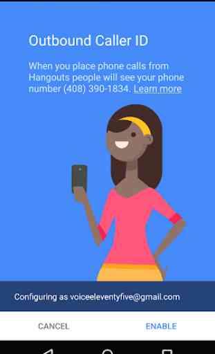 Telefono Hangouts - Telefonate 2