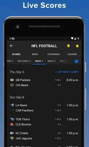 theScore: Live Sports Scores, News, Stats & Videos 1