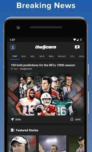 theScore: Live Sports Scores, News, Stats & Videos 2
