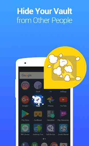 Vault - Nascondi foto e video, Blocco app, Backup 3