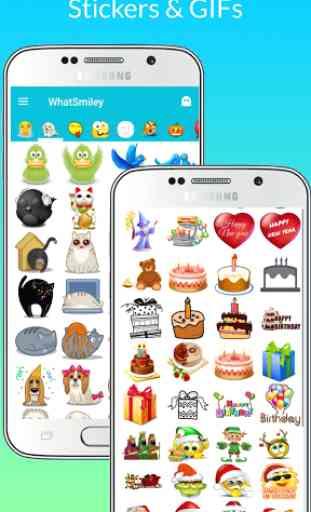 WhatSmiley - Smiley, GIF, emoticon e adesivi 2