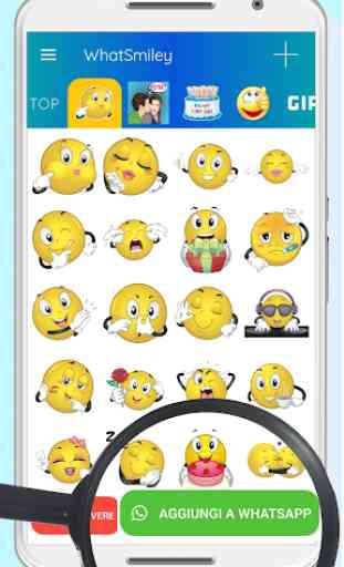 WhatSmiley - Smiley, GIF, emoticon e adesivi 3