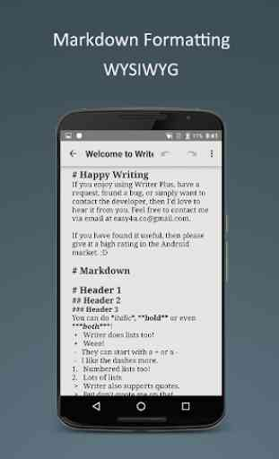 Writer Plus (Write On the Go) 2