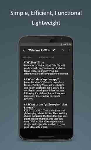 Writer Plus (Write On the Go) 4