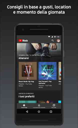 YouTube Music - riproduci musica e video musicali 2