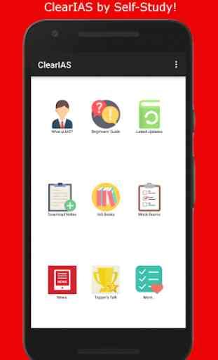 ClearIAS - Self-Study App for UPSC IAS/IPS Exam 1