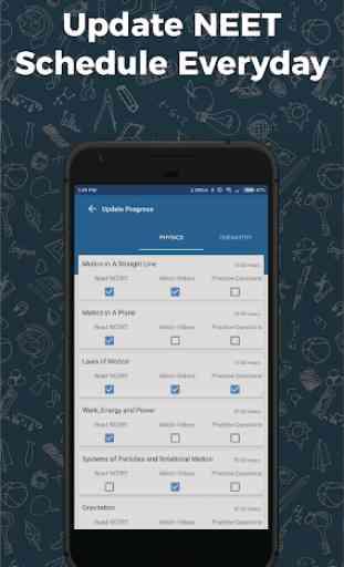NEET 2020 exam preparation app mcq papers offline 3