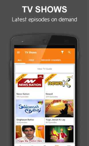nexGTv Live TV News Cricket 4