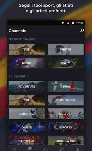 Red Bull TV: Sport in diretta, Musica & Spettacolo 4