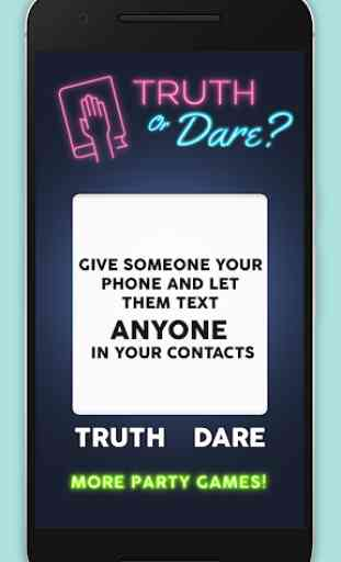 Truth or Dare: Teen Edition 1