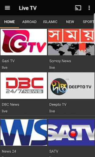 BDCast - Bangla Live TV,Radio 4