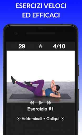 Esercizi Giornalieri - Routine di esercizi fitness 1