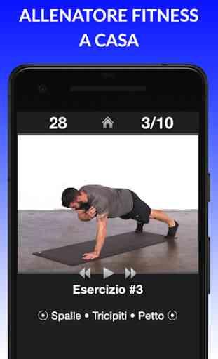 Esercizi Giornalieri - Routine di esercizi fitness 3