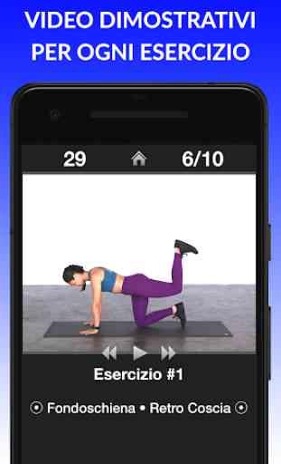 Esercizi Giornalieri - Routine di esercizi fitness 4