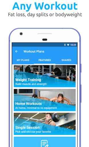 JEFIT Workout Tracker, Weight Lifting, Gym Log App 3