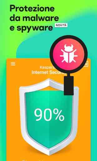Kaspersky Mobile Antivirus: AppLock Sicurezza Web 2