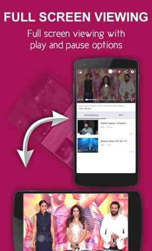 nexGTv SD Live TV on Mobile 1