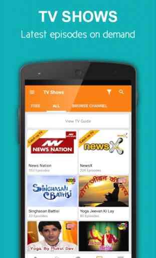 nexGTv SD Live TV on Mobile 4