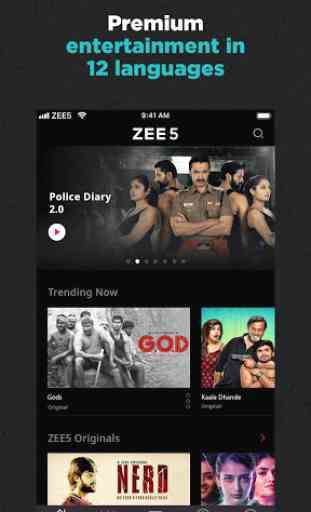 ZEE5 - Movies, TV Shows, LIVE TV & Originals 2