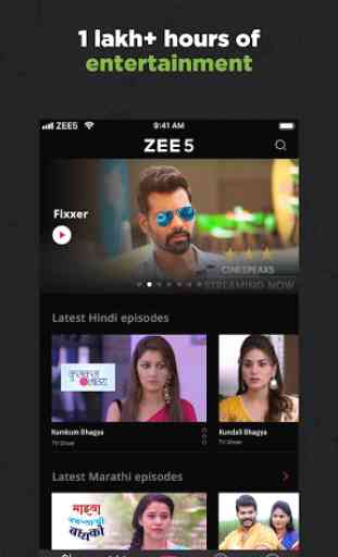 ZEE5 - Movies, TV Shows, LIVE TV & Originals 3