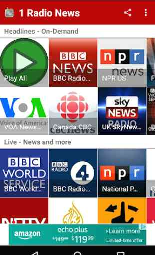 1 Radio News - Hourly, Podcasts, Live News 1