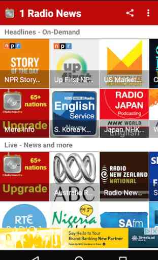 1 Radio News - Hourly, Podcasts, Live News 3