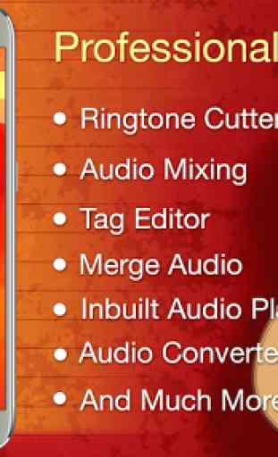 Audio MP3 Cutter Mix Converter and Ringtone Maker 1