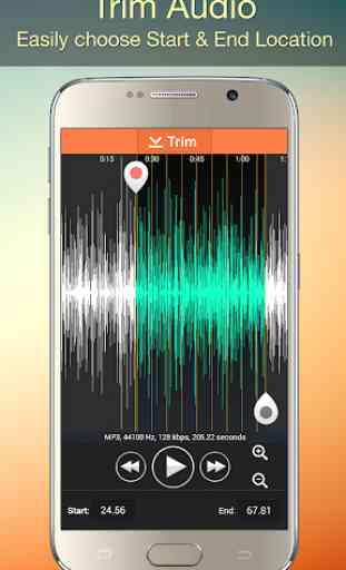 Audio MP3 Cutter Mix Converter and Ringtone Maker 3