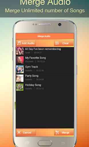 Audio MP3 Cutter Mix Converter and Ringtone Maker 4