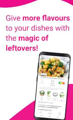 Magic Fridge: Easy recipe idea and anti-waste 1